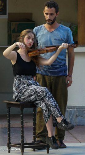 Q. López y N. Preto (Sarria) 2017